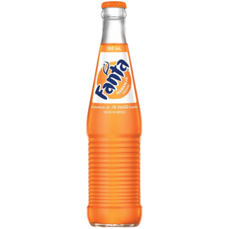 Fanta Mexican Orange Bottled