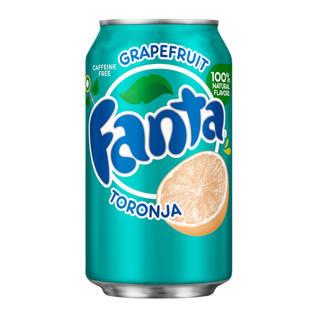 Fanta Grapefruit blik 0,355 l. (USA import)