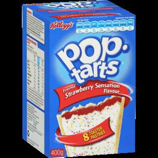 Kellogg's Poptarts Strawberry Sensation