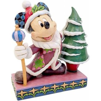 """Enesco Disney Traditions - Mickey Mouse """"Father Christmas"""""""