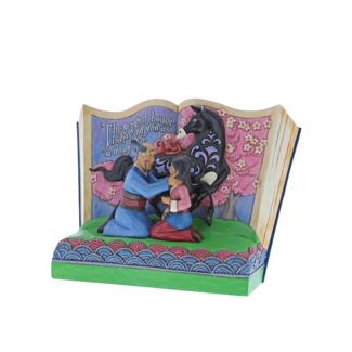 Enesco Disney Traditions - The Greatest Honor is You as a Daughter (Storybook Mulan)