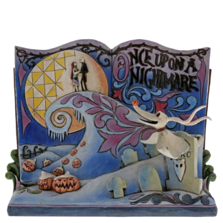 Enesco Disney Traditions Once Upon A Nightmare Before Christmas Storybook