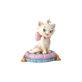 Enesco Disney Traditions - Marie On Pillow