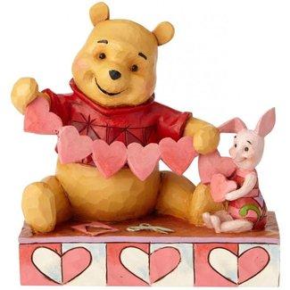 "Enesco Disney Traditions - Winnie The Pooh ""Handmade Valentines"""