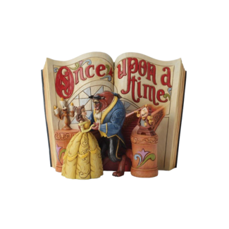 Enesco Disney Traditions - Love Endures (Storybook Beauty and The Beast)