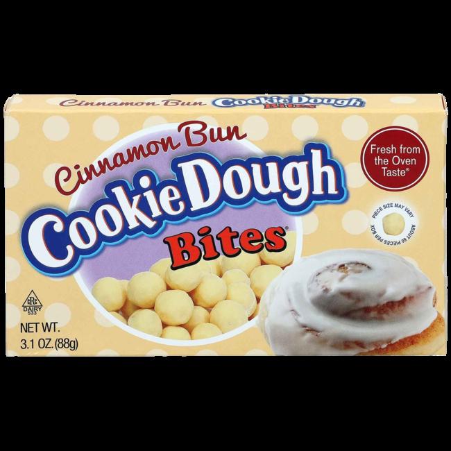 CookieDough Cinnamon Bun Bites 88 gr.