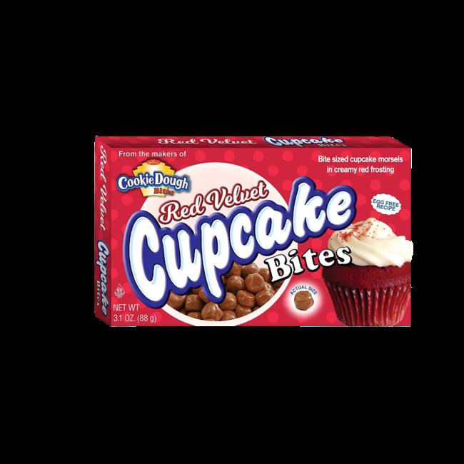 CookieDough Red Velvet Cupcake Bites 87 gr.
