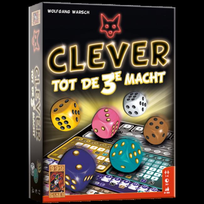 999 Games Clever tot de 3e macht - Dobbelspel