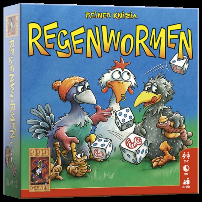 999 Games Regenwormen - Dobbelspel