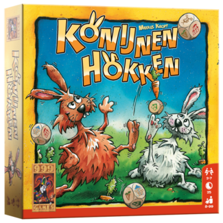 999 Games Konijnenhokken - Dobbelspel