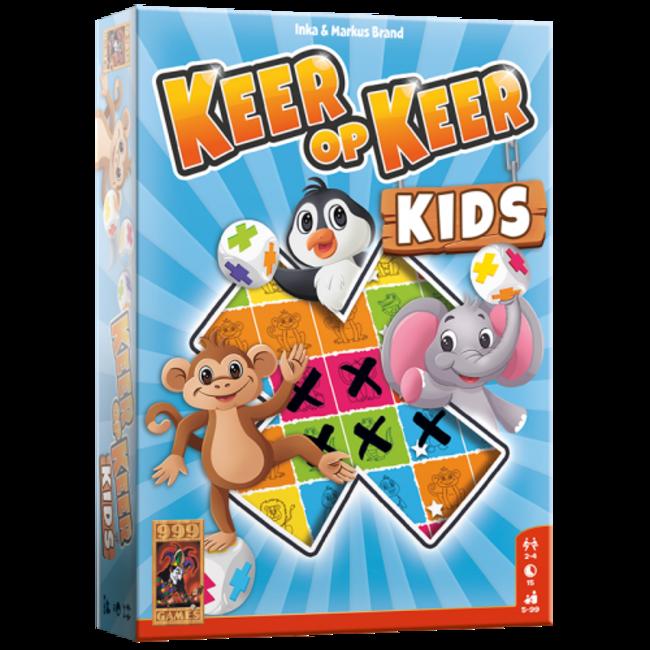 999 Games Keer op Keer Kids - Dobbelspel