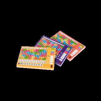 999 Games Scoreblokken Keer op Keer drie stuks Level 2, 3 en 4 - Dobbelspel