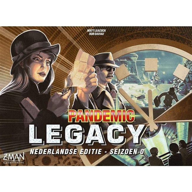 Z-Man Games PANDEMIC LEGACY SEIZOEN 0 NL