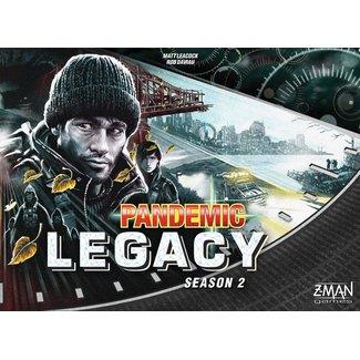 Z-Man Games PANDEMIC LEGACY SEIZOEN 2 BLACK NL