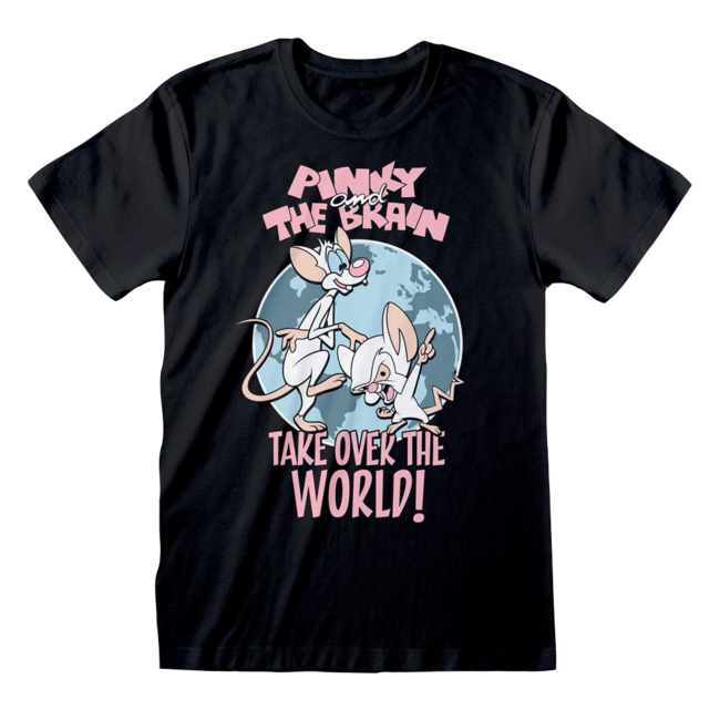 Heroes Inc Animaniacs T-Shirt Take Over The World - XL