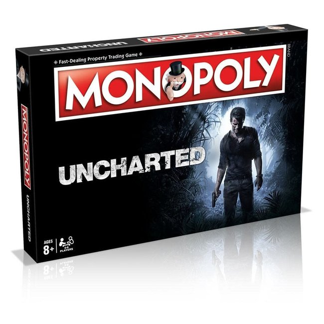 Hasbro Uncharted Board Game Monopoly *English Version*