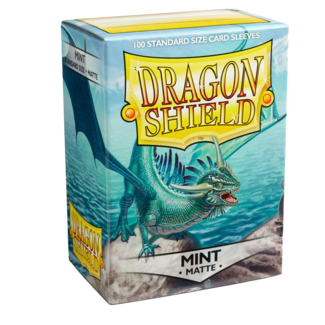Dragon Shield Sleeves - Matte Mint (100)