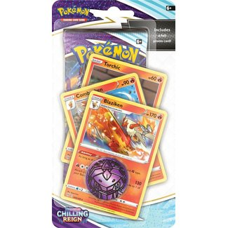 The Pokémon Company international SWORD & SHIELD CHILLING REIGN PREM. CHECK - BLAZIKEN