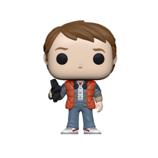 Funko Pop! Movie: Back to the Future - Marty in Puffy Vest