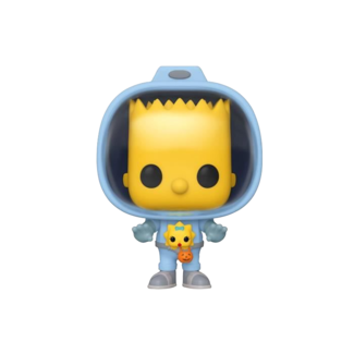 Funko Pop! Cartoons: The Simpsons - Spaceman Bart with Chestburster Maggie