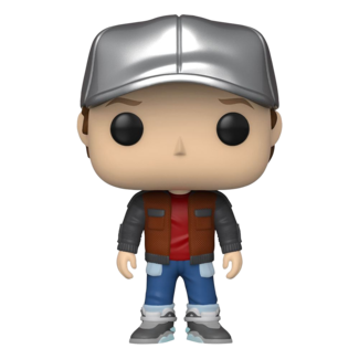 Funko Pop! Movies: Back tot the Future - Marty in Future Outfit