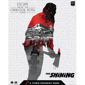 usaopoly Shining Board Game Escape from the Overlook Hotel - A Coded Chronicles™ Game *English Version*