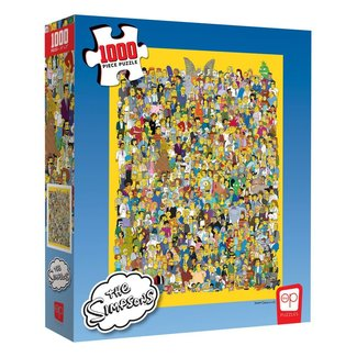 usaopoly Simpsons Jigsaw Puzzle Cast of Thousands (1000 pieces)