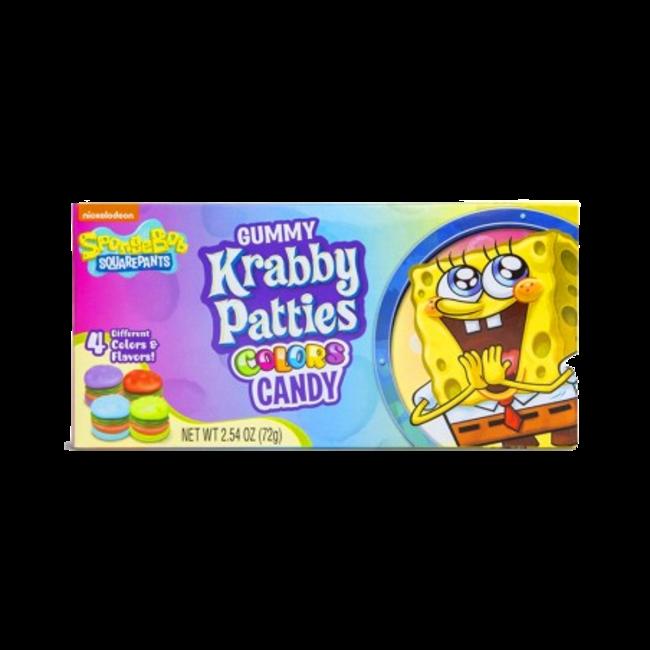 Krabby Patties Colors Box 72 gr.