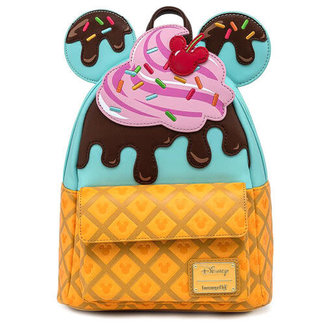 Loungefly Disney by Loungefly Backpack Mickey and Minnie Sweets Ice Cream