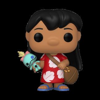 Funko Pop! Disney: Lilo and Stitch - Lilo with Scrump
