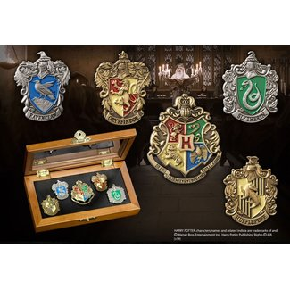 The Noble Collection Harry Potter Pin Collection Hogwarts Houses