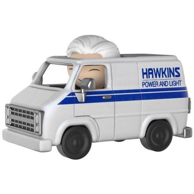 Funko Dorbz Ridez: Stranger Things - Hawkins Van and Hazmat Suit Bad Guy