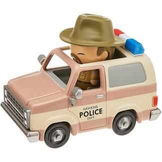 Funko Dorbz Ridez: Stranger Things - Hopper and Sheriff Deputy Truck