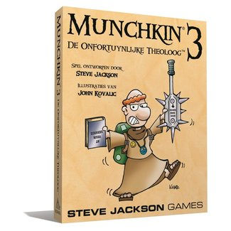 Steve Jackson Games MUNCHKIN 3 NL - DE ONFORTUINLIJKE THEOLOOG