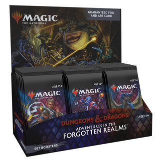 Wizards Of The Coast FORGOTTEN REALMS SET BOOSTER DISPLAY