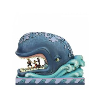 Enesco Disney Traditions - A Whale of a Whale (Monstro with Geppetto and Pinocchio)