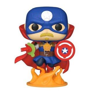 Funko Pop! Marvel: Infinity Warps - Soldier Supreme Special Edition (Glow in the Dark)