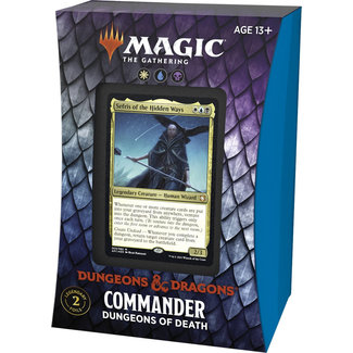 Wizards Of The Coast FORGOTTEN REALMS COMMANDER DECK - DUNGEONS OF DEATH
