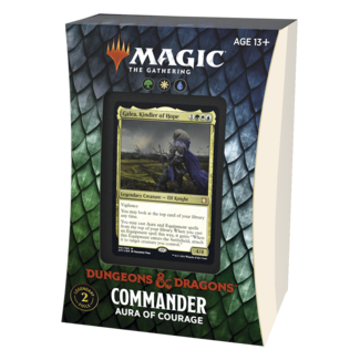 Wizards Of The Coast FORGOTTEN REALMS COMMANDER DECK -AURA OF COURAGE