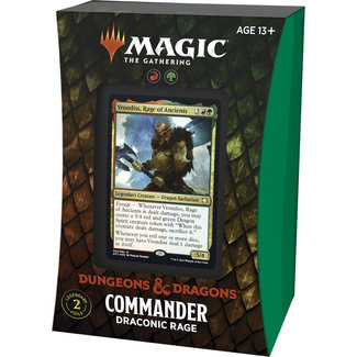 Wizards Of The Coast FORGOTTEN REALMS COMMANDER DECK - DRACONIC RAGE