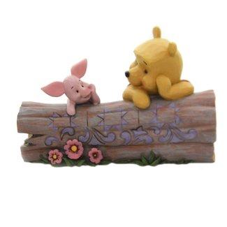 Enesco Disney Traditions - Truncated Conversation (Winnie The Pooh & Piglet)