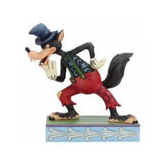 Enesco Disney Traditions - I'll Huff and I'll Puff! (Silly Symphony Big Bad Wolf)