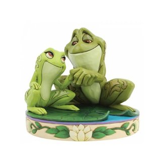 Enesco Disney Traditions - Amorous Amphibians (Tiana and Naveen as Frogs Figurine)