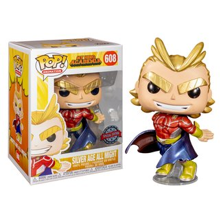 Funko Pop! Animation: My Hero Academia - Silver Age All Might (Special Edition)