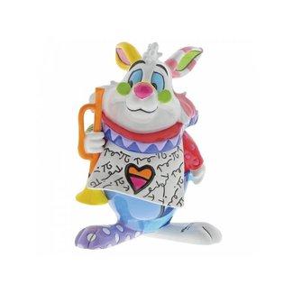 Enesco Disney Britto - White Rabbit Mini Figurine