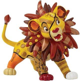 Enesco Disney by Britto The Lion King Simba Mini Stone Resin Figurine
