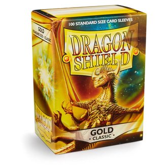 Dragon Shield SLEEVES DRAGON SHIELD - GOLD (100CT)