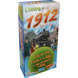 Days Of Wonder TICKET TO RIDE - EUROPA 1912 - MULTILINGUAL
