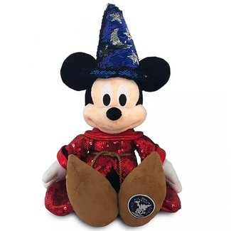 Sorcerer Mickey Mouse Sequined Knuffel – Fantasia 80th Anniversary