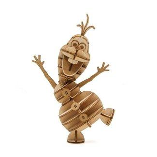 Incredibuilds Frozen IncrediBuilds 3D Wood Model Kit Olaf